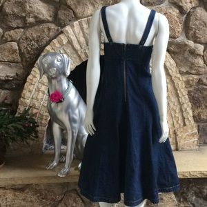 Anthropologie Holding Horses Denim Dress